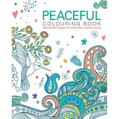 Peaceful Colouring Book image number 1