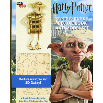 Harry Potter: House-Elves Deluxe Book and Model Set image number 1