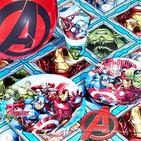 Avengers Paper Party Masks - 6 Pack