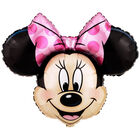 28 Inch Minnie Mouse Super Shape Helium Balloon image number 1