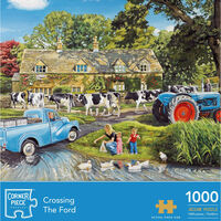 Crossing the Ford 1000 Piece Jigsaw Puzzle
