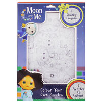 Moon & Me Colour Your Own Jigsaw Puzzle