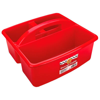 Storage Caddy Red image number 1