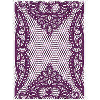 CC Vintage Lace Embossing Folder - Venetian Lace