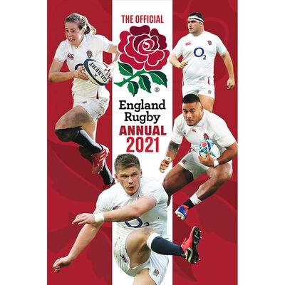 The Official England Rugby Annual 2021 image number 1