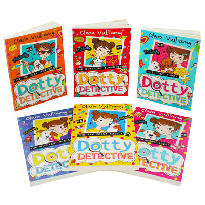 Dotty Detective: 6 Book Collection image number 3