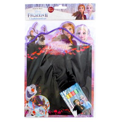 Disney Frozen 2 Chalkboard Set image number 1
