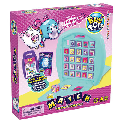 Pikmi Pops - Top Trumps Match Board Game image number 1