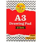 A3 Drawing Pad: 60 Sheets image number 1