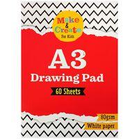 A3 Drawing Pad: 60 Sheets