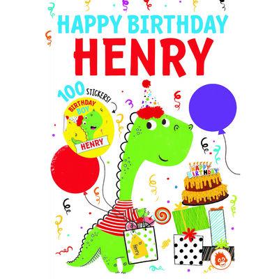 Happy Birthday Henry image number 1