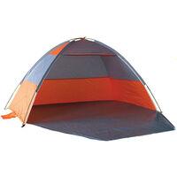 UV Protected Beach Shelter with Zip Door