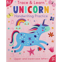 Trace And Learn Unicorn Handwriting Practice