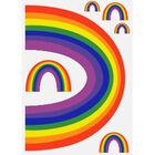 Rainbow Window Stickers Assorted image number 2