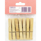 Days of the Week Wooden Pegs - 7 Pack image number 3