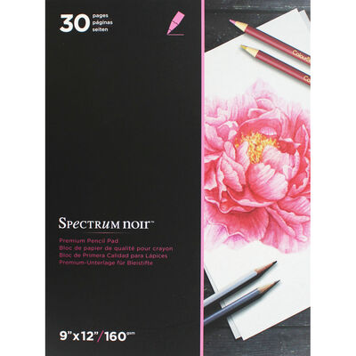 Spectrum Noir 9x12 Inch Premium Pencil Paper Pad image number 1