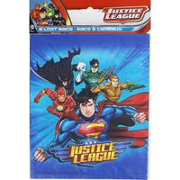 Justice League Party Bags - 8 Pack