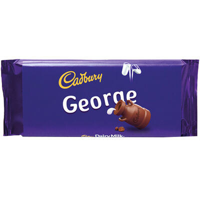 Cadbury Dairy Milk Chocolate Bar 110g - George image number 1