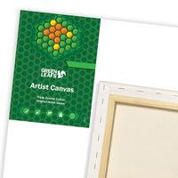Green Leafs Canvas 18 x 24cm
