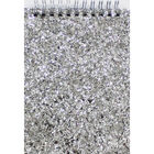 Silver Glitter A6 Wiro Jotter Pad image number 1