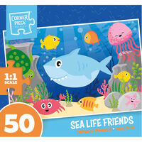 Sea Life Friends 50 Piece Jigsaw Puzzle