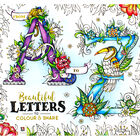 A-Z Beautiful Letters to Colour and Share image number 1