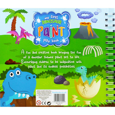 My First Dinosaur Paint Play Book image number 4