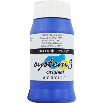 Daler Rowney System 3 Acrylic Paint - Cobalt Blue Hue image number 1