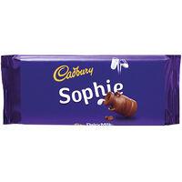 Cadbury Dairy Milk Chocolate Bar 110g - Sophie