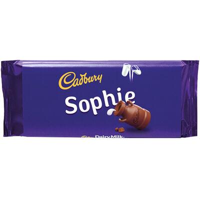 Cadbury Dairy Milk Chocolate Bar 110g - Sophie image number 1