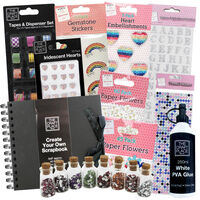 Father's Day Ultimate Create Your Own Black Scrapbook Bundle