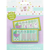 Baby Shower Scratch Cards - Pack of 12
