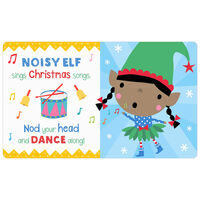 Happy Elf Peekaboo