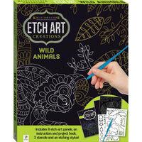 Etch Art Creations: Wild Animals