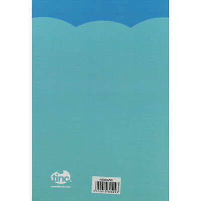Tinc A5 Blue Tonkin Lined Notebook image number 4