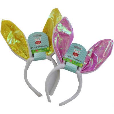 Easter Bunny Ears Headband - Assorted image number 2