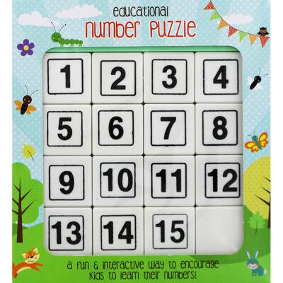 Educational Sliding Number Puzzle image number 1