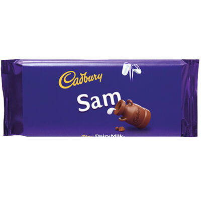 Cadbury Dairy Milk Chocolate Bar 110g - Sam image number 1