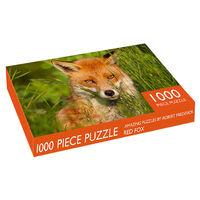 Amber Fox 1000 Piece Jigsaw Puzzle