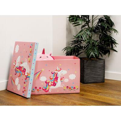 Unicorn Jumbo Magnetic Collapsible Toy Box image number 4