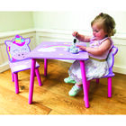 Magical Unicorn Wooden Table and Chairs Set image number 4