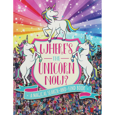 Wheres the Unicorn Now?: A Search-and-Find Book image number 1