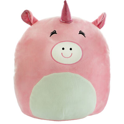 Snuggly Pink Piggy Corn Plush Soft Toy image number 1
