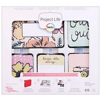 American Crafts: Project Life Sweet 616 Piece Card Kit