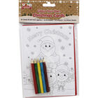 Colour Your Own Christmas Cards - 6 Pack image number 1