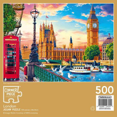 London 500 Piece Jigsaw Puzzle image number 3