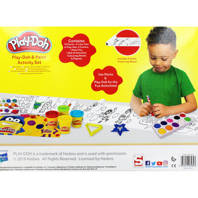 Play-Doh and Paint Activity Set image number 4