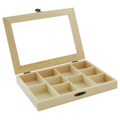 Wooden Compartment Box image number 4