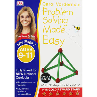 Carol Vorderman: Problem Solving Made Easy: Age 9-11 image number 1