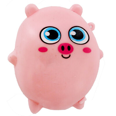Pink Pig Sticky Stretch Ball image number 2